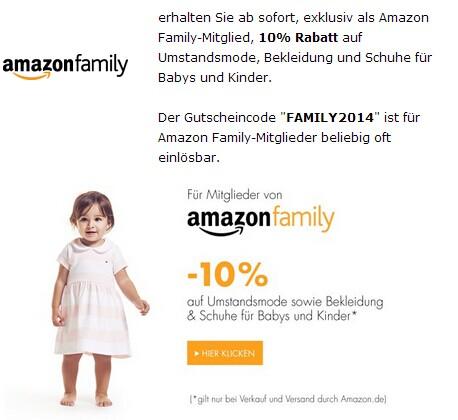 Amazon family 婴幼儿用品优惠