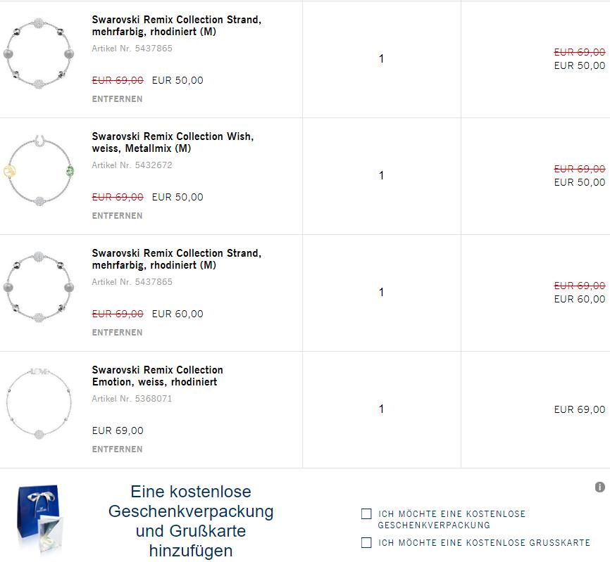 Swarovski Remix Collection Armbänder