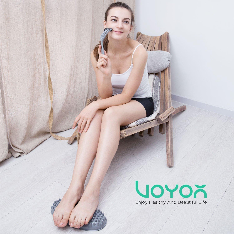 VOYOR Fußmassagegerät + Kopfhautmassagegerät